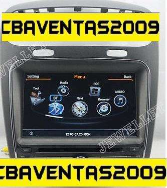 Estereo CENTRAL MULTIMEDIA STEREO <strong>dodge</strong> JOURNEY Gps Android Bluetooth