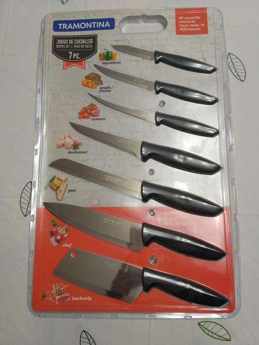 Set de Cuchillos Tramontina de 7 Piezas