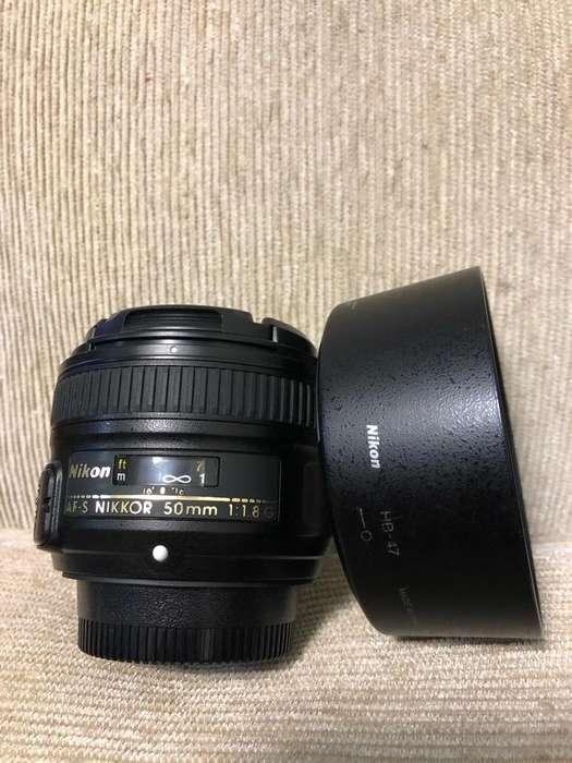 Lente Nikon 50Mm 1.8 G Full Frame Y Dx