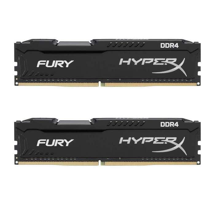 Hyperx Fury Ddr4 Cl15 Memoria Ram 16 Gb 2x8 Gb, 2400mhz