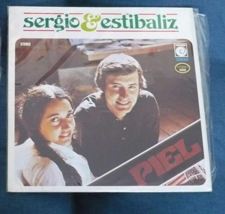 Lp Sergio Y Estibaliz Piel 1976 Balada Pop