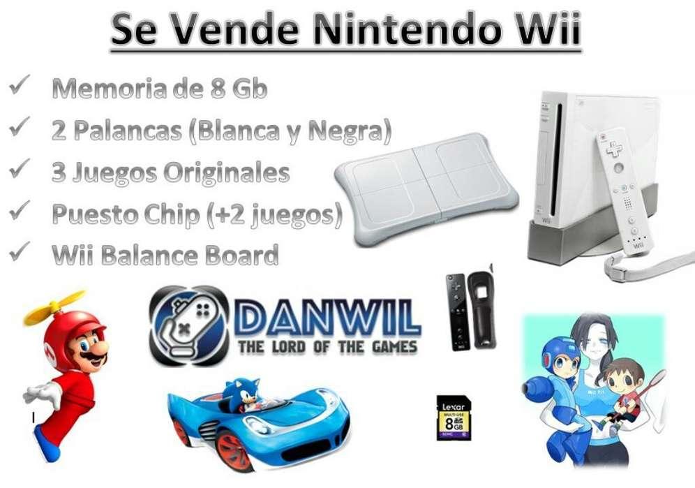 Nintendo Wii con Balance Boar