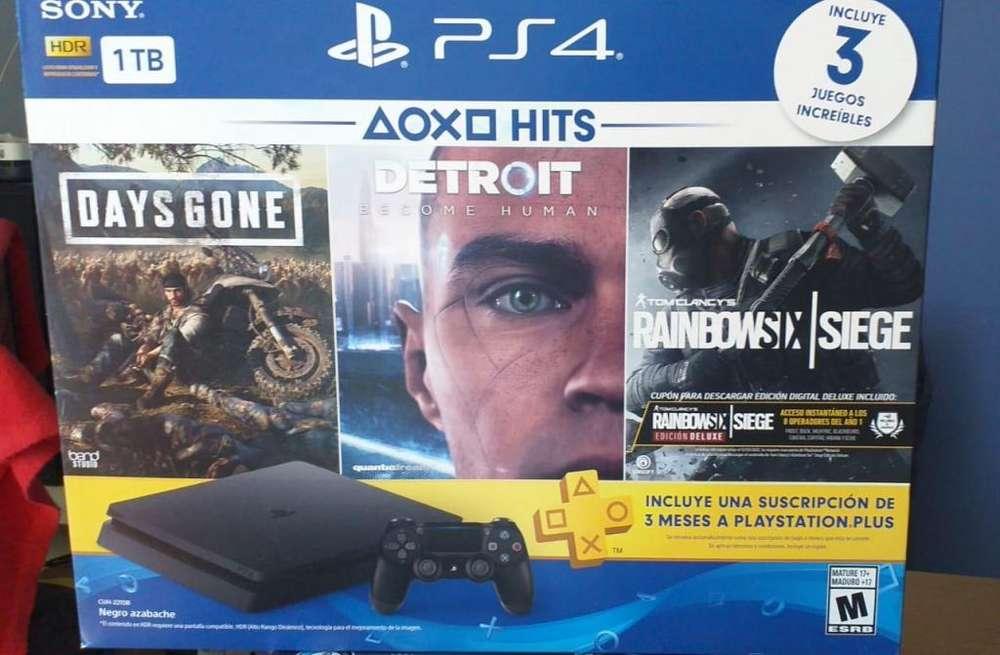 PlayStation 4 de 1TB Nuevo.