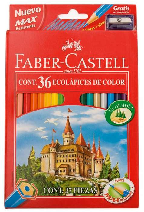 LAPICES FABER-CASTELL X 36 CASAPUNTA