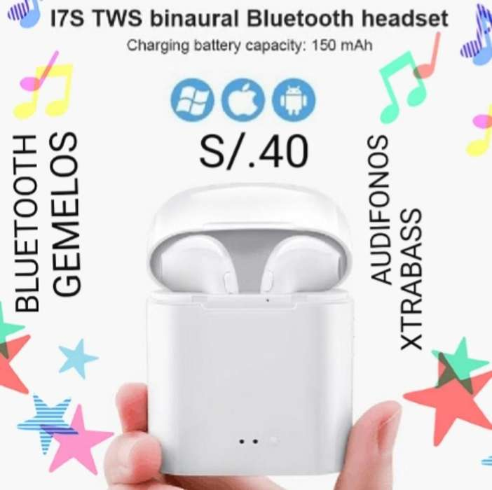 Bluetooth Gemelos iPhone Y Android