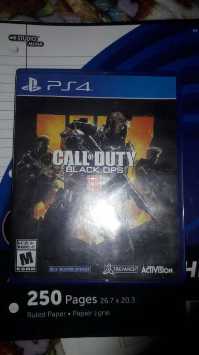 Vendo Call Of Duty Black Ops 4 Ps4