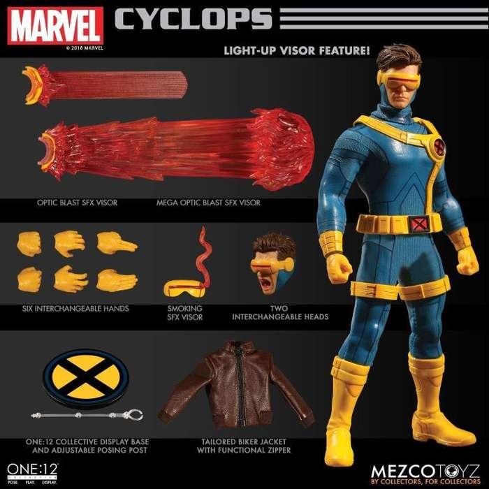 Figura Mezco One:12 Cyclops X-men
