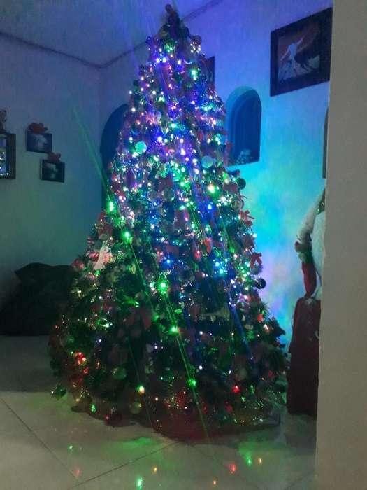 Se Vende Hermoso Arbol D Navidad con Tod