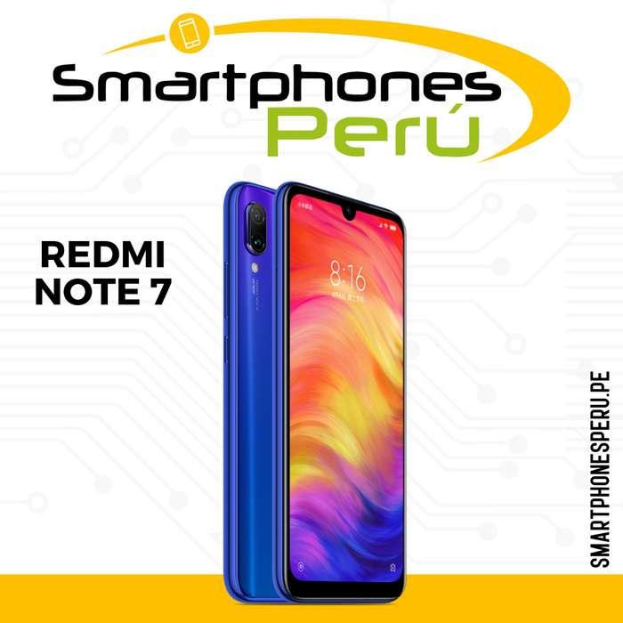 Redmi Note 7 64GB / Disponibilidad inmediata / Somos Smartphonesperu.pe