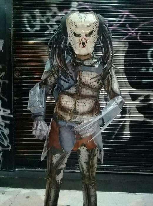 Disfraz Depredador