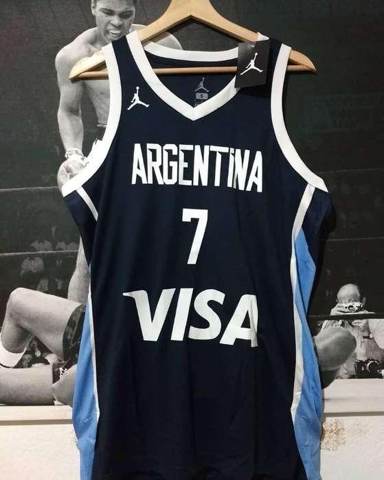 Camiseta Jordan Argentina Campazzo