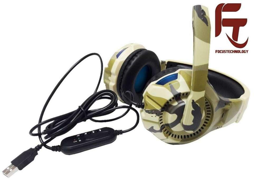 Audifonos Gamers G306