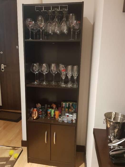 Mueble Bar Aglomerado Color Wenge