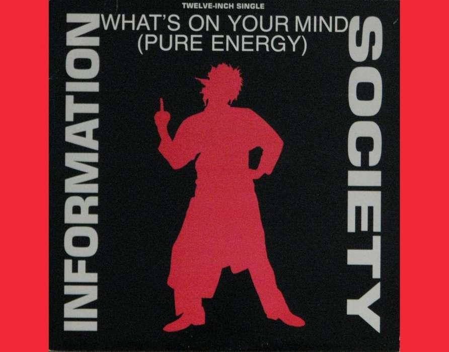 * WHATS ON YOUR MIND Information Society acetato vinilo Lps para tornamesas DJ tocadiscos Deejays Entrega a domicilio