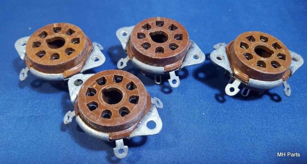 Tubo de base de baquelita Socket 8 pin NOS 2