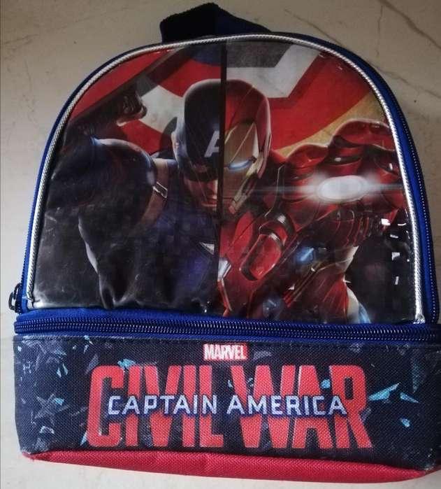 Lonchera Marvel Capitan America