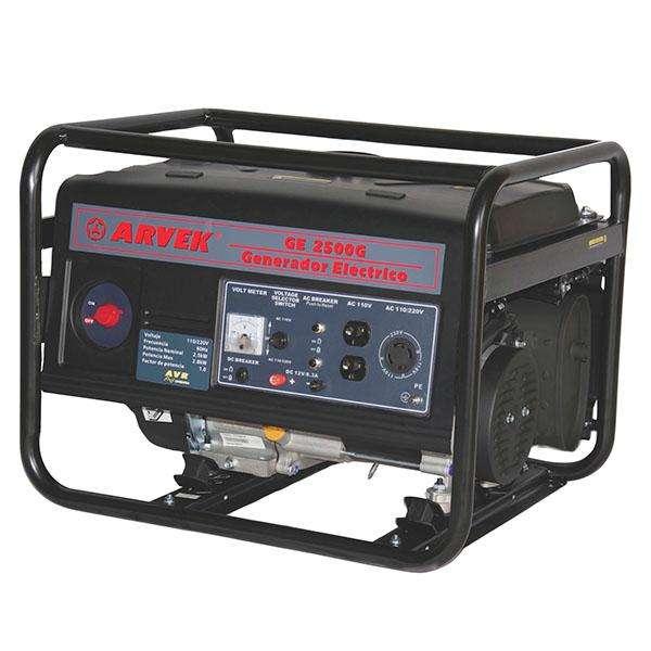 GENERADOR A GASOLINA 6.5 HP 110/2202500 WATTS