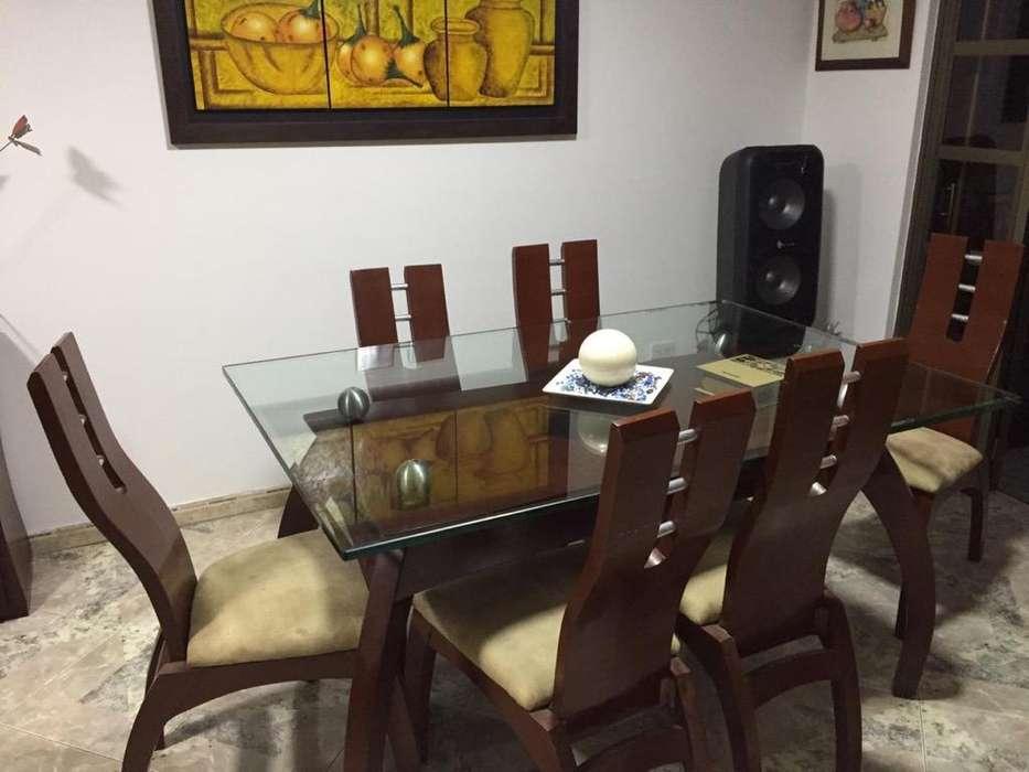 Comedor Cafe con Vidrio Grueso