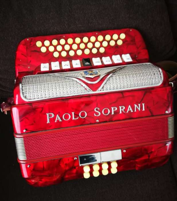 acordeon Paolo soprani italiano original diatonico chamame verdulera