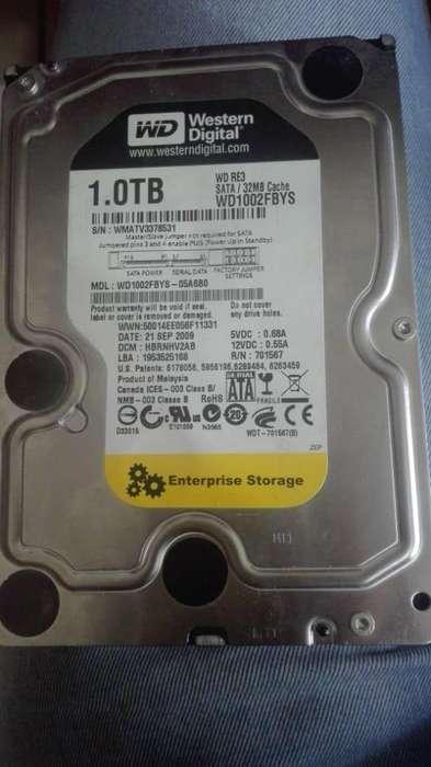 Disco duro Western Digital 1TB