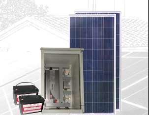 PLANTA ENERGÍA SOLAR 300Wp PS300-24P200-1000M