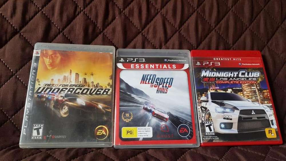 Ps3 Carreras Need for speed y más oferta