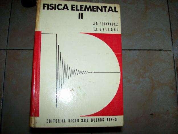 Física Elemental 2 Fernández Galloni usado.