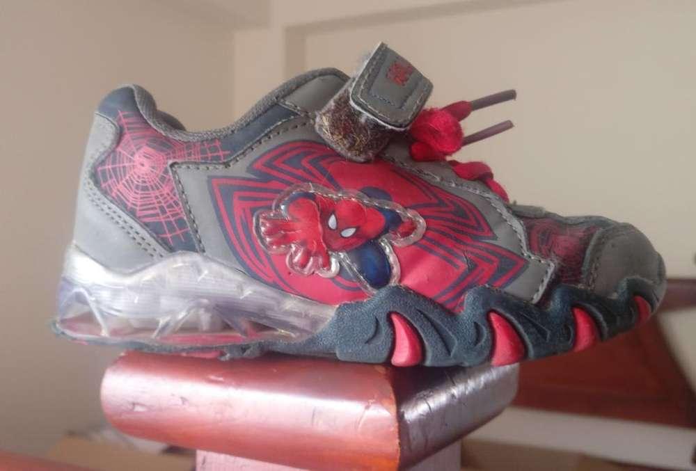 Zapato Niño Spiderman