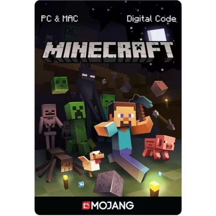Tarjeta Minecraft