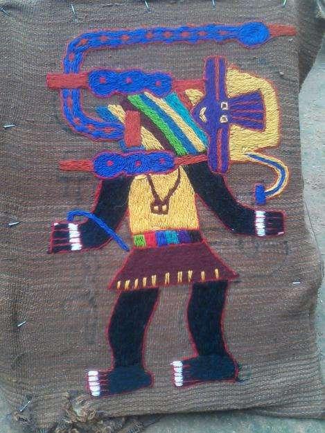 bordado paracas replica