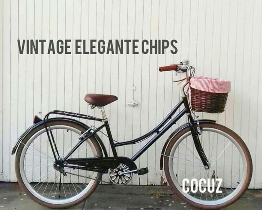 Bicicleta Vintage Diseño Holandés Mujer