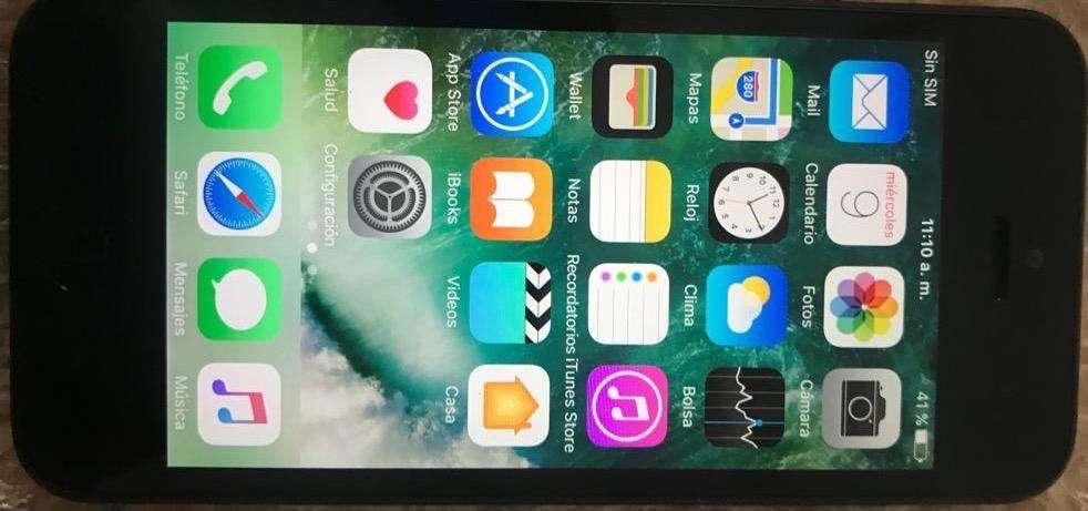 iPhone 5 16Gb Libre Icloud Solo Movistar