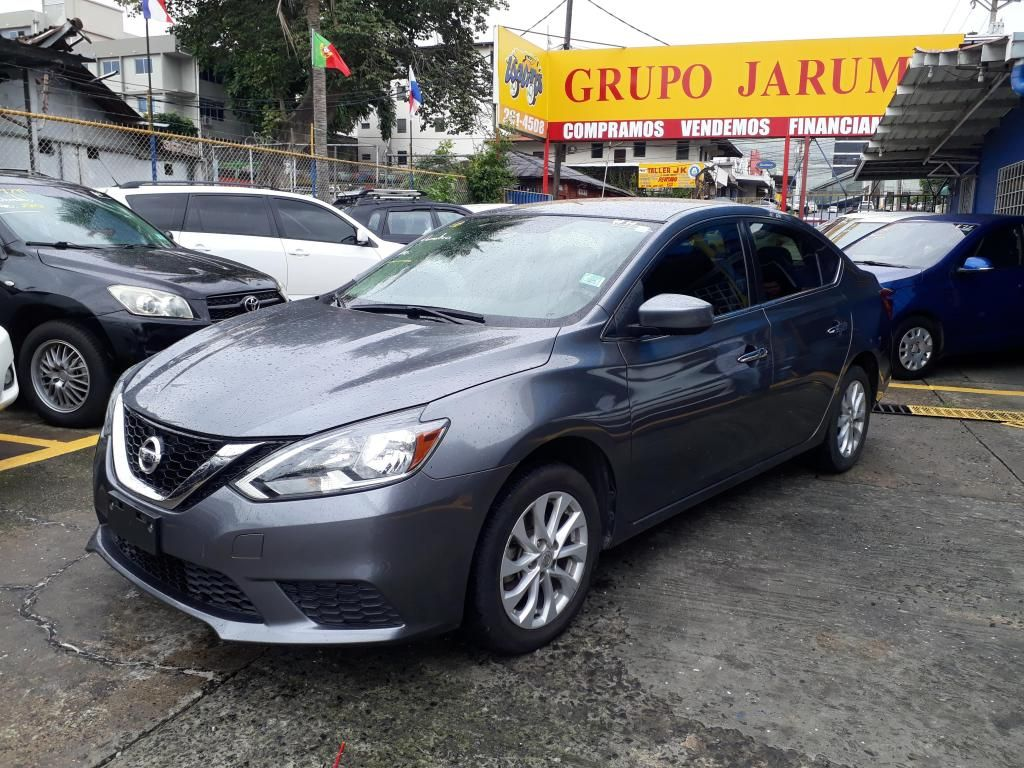 NISSAN SENTRA B17 2018 ** GRUPO JARUM **  FINANCIAMIENTO DISPONIBLE