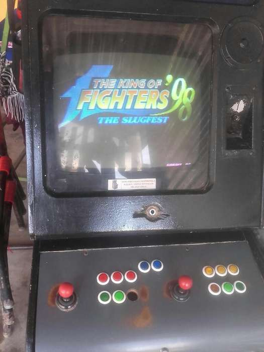 Video Juego Arca The King Of Fighters 98