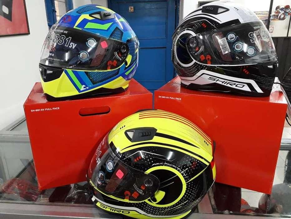 Nuevos modelos de cascos para Motos Shiro