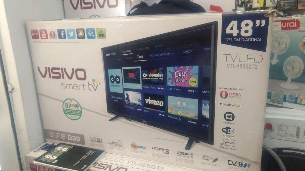 Tv Visivo Smart Tv Nuevo en Caja 48 Pulg