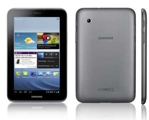 Tablet samsung gtp3100