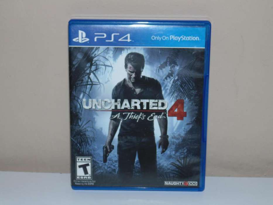 Uncharted 4 PS4 Juego Play Station 4