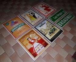 carteles para adorno