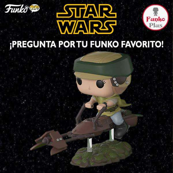 Funko Pop Star Wars Princess Leia with Speeder Bike 228 FP