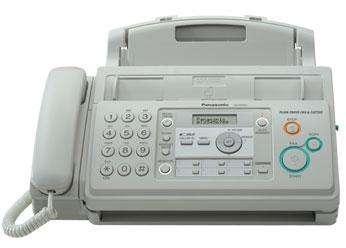 <strong>fax</strong> Panasonic modelo KXFP701