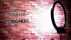 Anillo Aro de luz Yongnuo YN308 3200K 5500K cONTROL Wireless