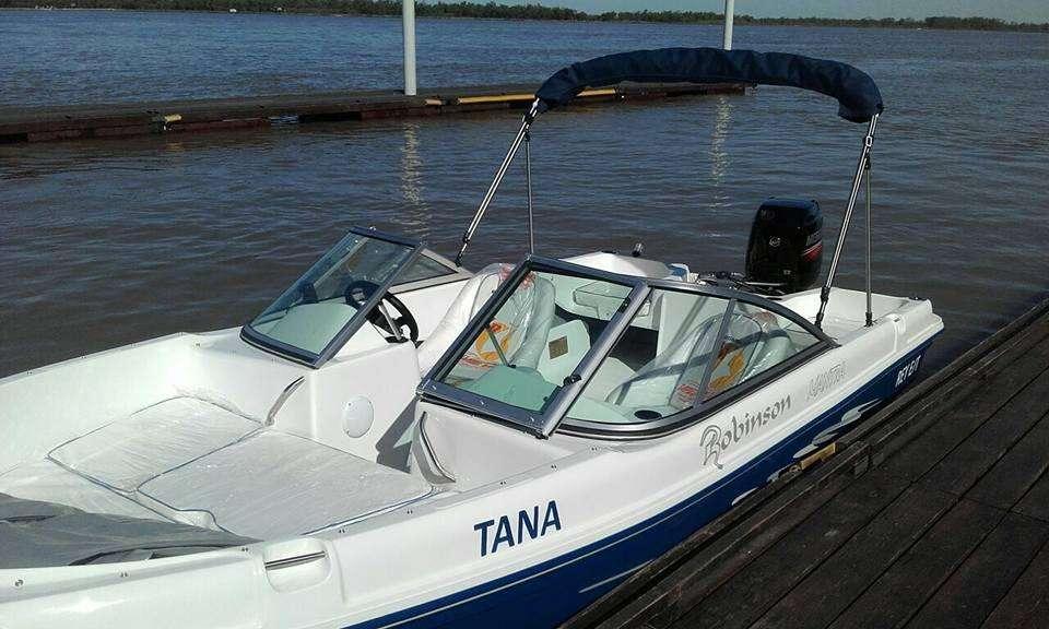 LANCHA ROBINSON MANTRA 530 OPEN NUEVA SIN MOTOR - TRACKER - PESCA - YAMAHA - MERCURY
