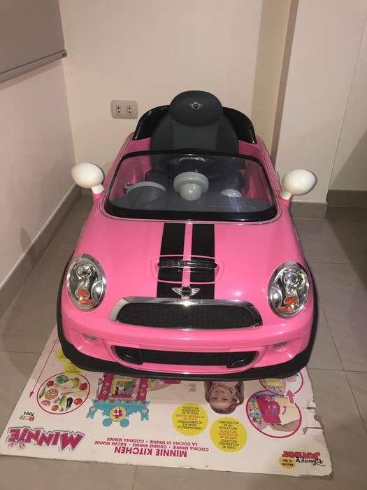 Carrito Mini Cooper de Niña