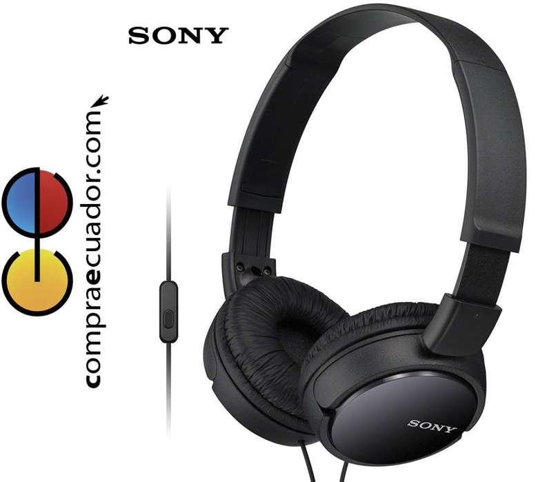 SONY Audífonos con Microfono y Control de llamadas Tipo DJ