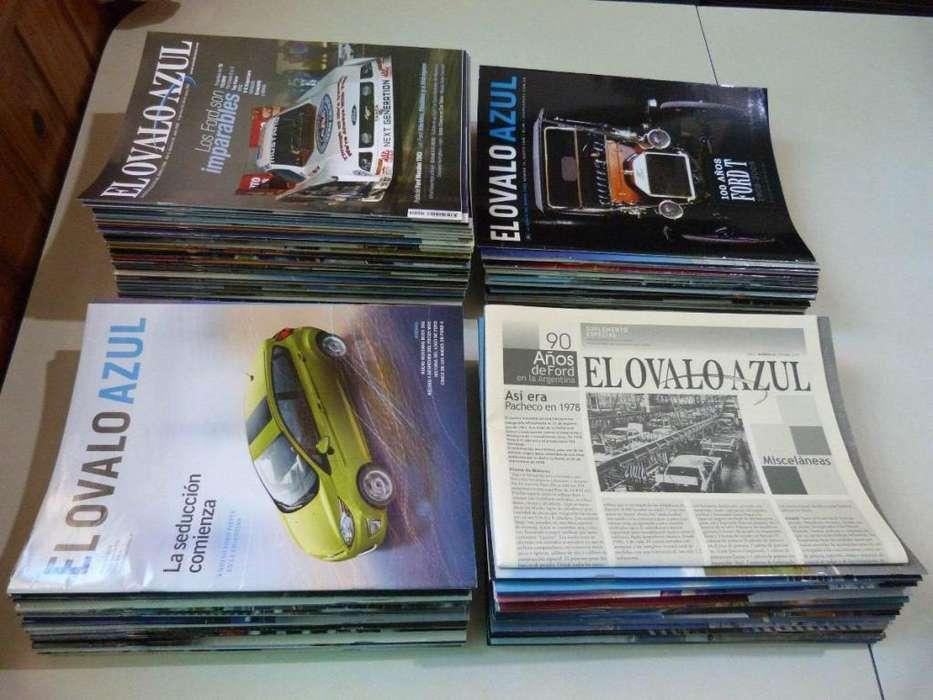 Colección El Óvalo Azul, Revista Exclusiva Del Mundo Ford