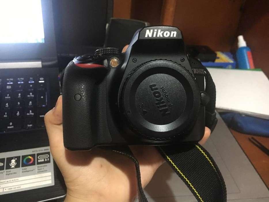 Nikon D3400 Cuerpo Garantia Agosto 2019