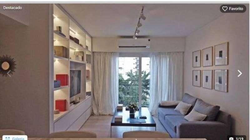 Hermoso departamento de 3 ambientes totalmente equipado y amoblado en Palermo