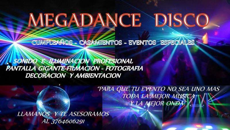 DiscotecaDj Sonido e iluminacion profesional para eventos. Visa o master