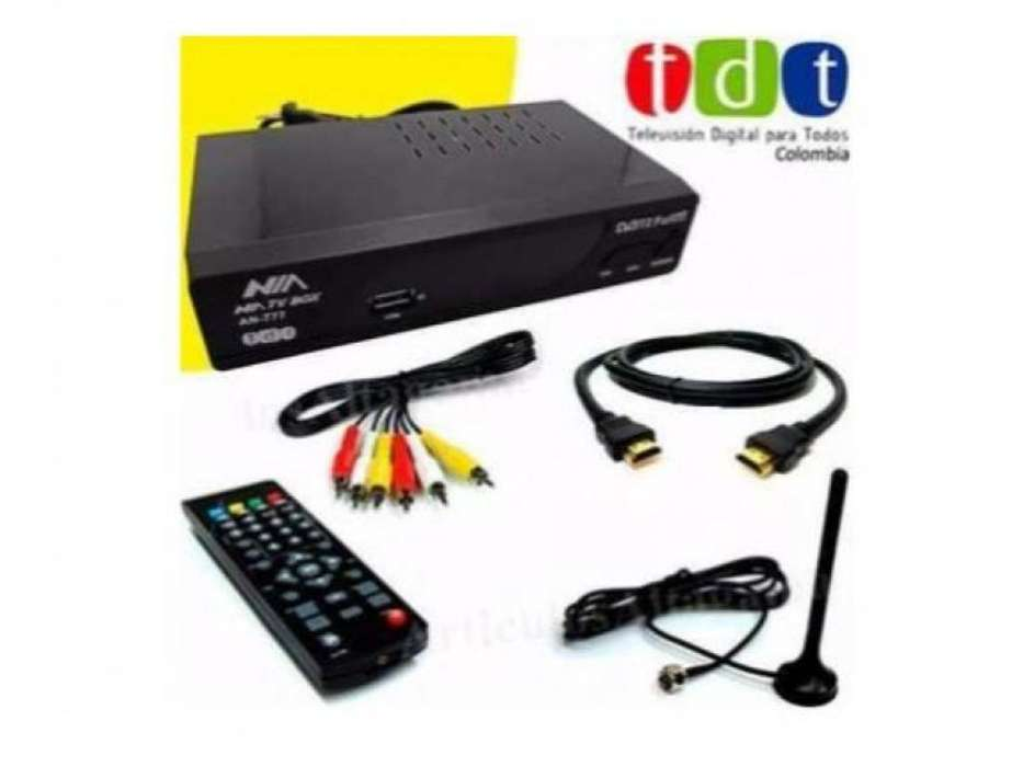 Decodificador Tdt Nia Tv Digital